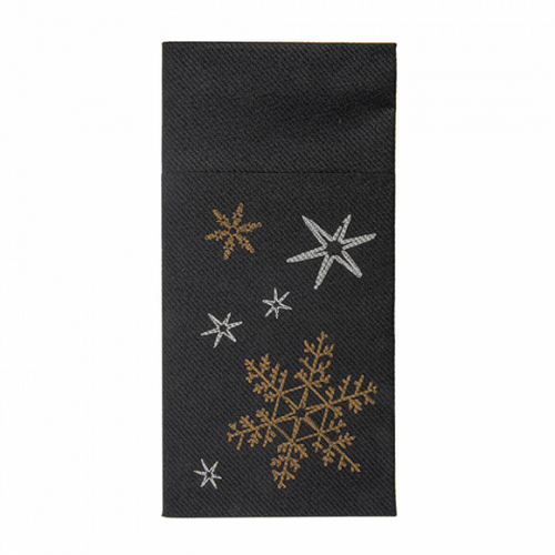 Serviette soft kangourou CHRISTMAS NIGHT 40x40 cm - Carton de 700 unités