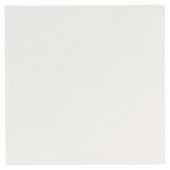 Serviette Double Point® 20x20cm cocktail BLANCHE - Carton de 2400 unités