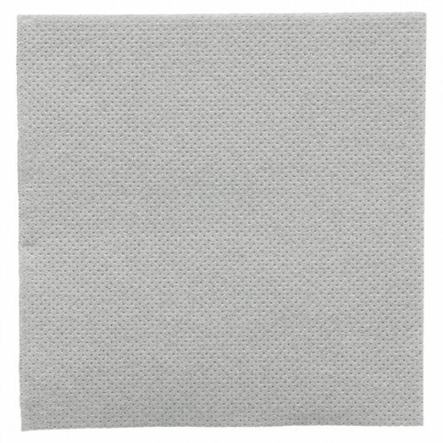 Serviette Double Point® 20x20cm cocktail GRIS PASTEL - Carton de 2400 unités