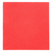 Serviette Double Point® 20x20cm cocktail ROUGE - Carton de 2400 unités