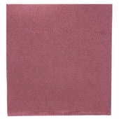 Serviette Double Point® 20x20cm cocktail PRUNE - Carton de 2400 unités