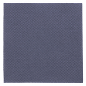 Serviette Double Point® 20x20cm cocktail BLEU MARINE - Carton de 2400 unités