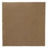 Serviette Double Point® 20x20cm cocktail CHOCOLAT - Carton de 2400 unités