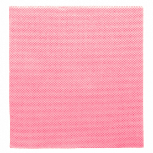 Serviette Double Point® 33x33cm ROSE PASTEL - Carton de 1200 unités