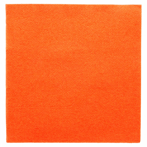 Serviette Double Point® 33x33cm ORANGE - Carton de 1200 unités