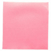 Serviette Double Point® 39x39cm ROSE PASTEL - Carton de 1200 unités
