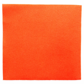 Serviette Double Point® 39x39cm ORANGE - Carton de 1200 unités