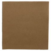 Serviette Double Point® 39x39cm CHOCOLAT - Carton de 1200 unités