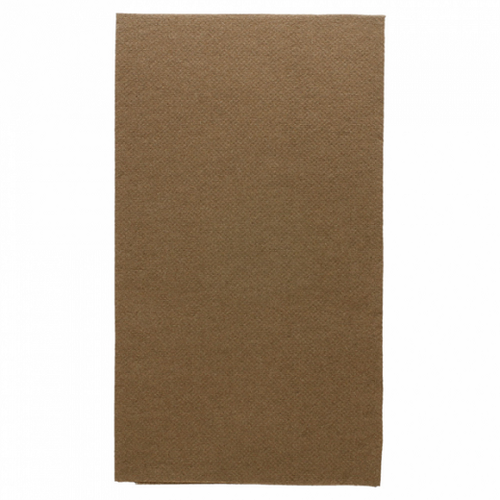 Serviette Double Point® 33x40cm CHOCOLAT - Carton de 2000 unités