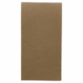 Serviette Double Point® 40x40cm pliage 1/8 CHOCOLAT - Carton de 1200 unités