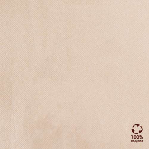 Serviette Double Point® 39x39cm Beige FEEL GREEN - Carton de 1200 unités