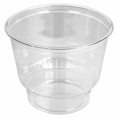 Pot à glace en PET transparent 240 ml - carton de 1000 unités