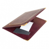Porte addition bordeaux 16.5x22.5 cm