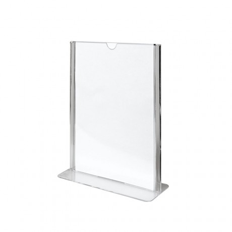 Porte menu vertical 10.5 x 14.8 cm (A6) - pack de 20