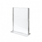 Porte menu vertical 10.5 x 14.8 cm (A6) - pack de 60