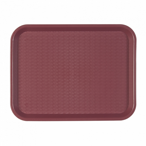 Plateau fast food 30.4 x 41.4 cm BORDEAUX