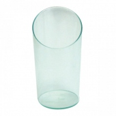 Verrine mini tube vert d'eau transparent- 30ml - 3.5x3.5x5.5(h)cm - pack de 500 unités
