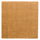 Serviette Double Point® 40x40cm pliage 1/4 Toile de Jute FEEL GREEN - Carton de 1200 unités