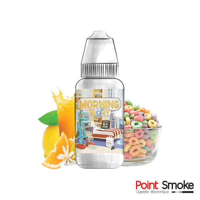 "E-liquide ""Morning Glory"" gamme Jean-Cloud"