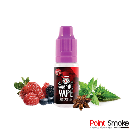 "E-liquide ""Attraction"" de Vampire Vape"