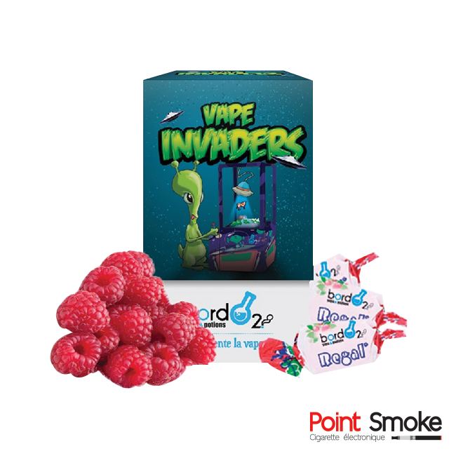 "Bordo2 - ""Vape Invaders"" - Gamme Premium"