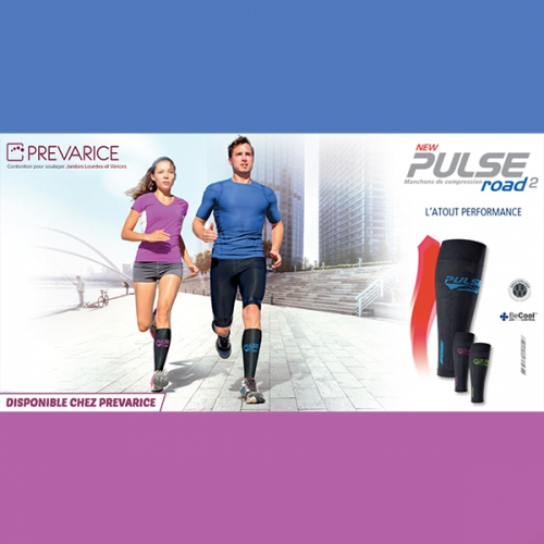 Manchon de Compression Sigvaris Pulse Road 2