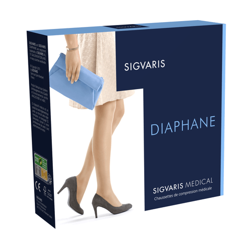 Bas contention Sigvaris Essentiel Semi-transparent (Diaphane) Morpho Moins