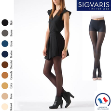 Collant contention Sigvaris Essentiel Semi-transparent (Diaphane) Classe 2