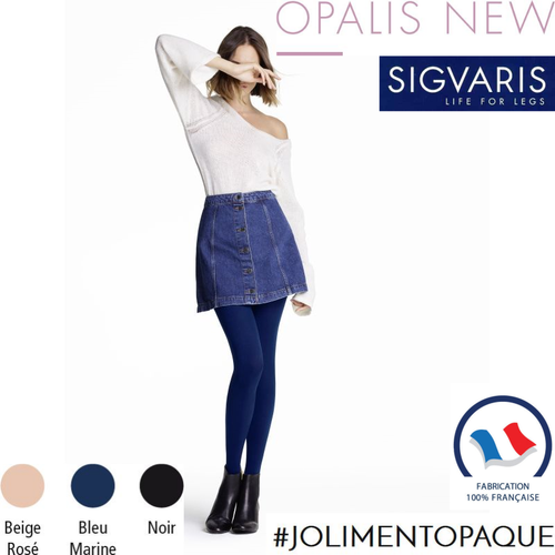 Collant de contention Styles Opaque (Opalis) Sigvaris Classe 2