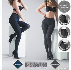 Collant de contention Smartleg Opaque