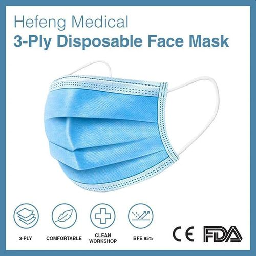 Masque de protection chirurgical jetable