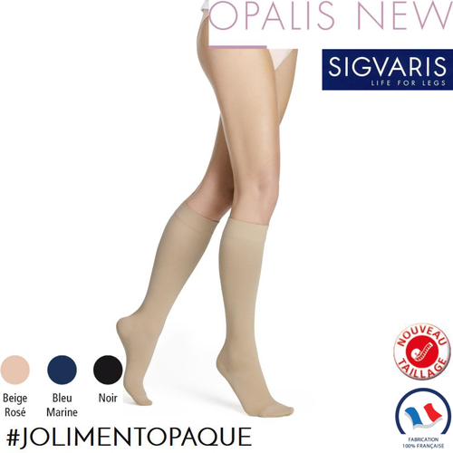 nice cheap release date outlet on sale Chaussettes mi-bas de contention Sigvaris Opalis Classe 2