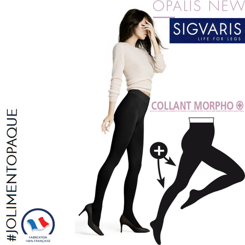 Collant de contention Styles Opaque (Opalis) Morpho Plus Classe 2