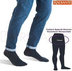 Collant de contention Homme Qoton Radiante Classe 2
