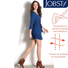 Bas de contention Jobst Transparent Classe 2