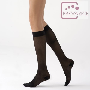 Chaussettes de contention Dynaven Pure transparent Classe 2