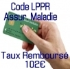 Remboursement 102€ CPAM