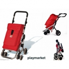 Chariot de course Go Up Playmarket Taupe