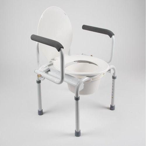 Chaise perçée de toilettes multi-usages