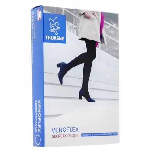Mi-Bas Chaussette de Contention Venoflex Secret Thuasne