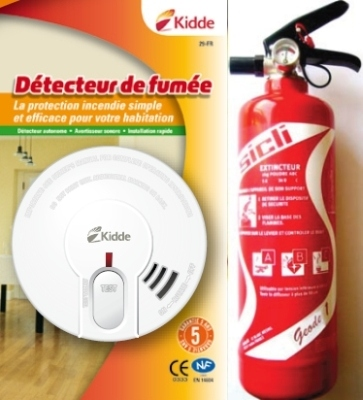 Pack incendie Appartement
