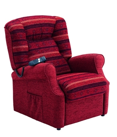 Fauteuil Releveur Madison Rouge Invacare