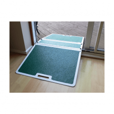 Rampe de seuil double ultra-large