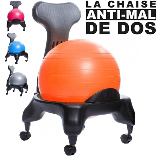 Chaise Ergo Anti Mal Ball Dos De 6ybYgf7