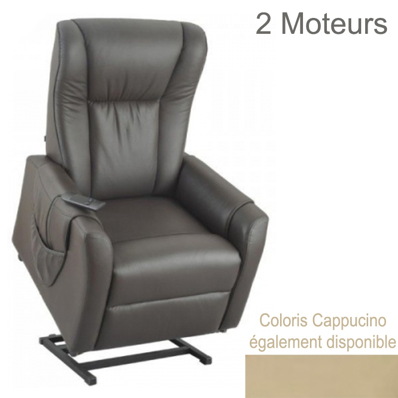 fauteuil releveur electrique brooklyn 2 moteurs. Black Bedroom Furniture Sets. Home Design Ideas