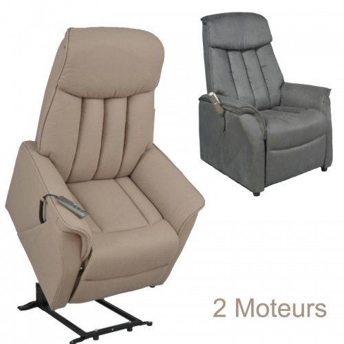 fauteuil releveur lectrique clifton 2 moteurs. Black Bedroom Furniture Sets. Home Design Ideas