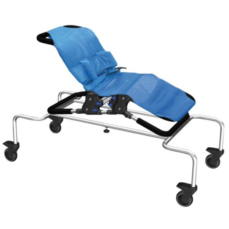 Awesome good chariot de douche pour chaise starfish with - Chaise wc pour handicape ...