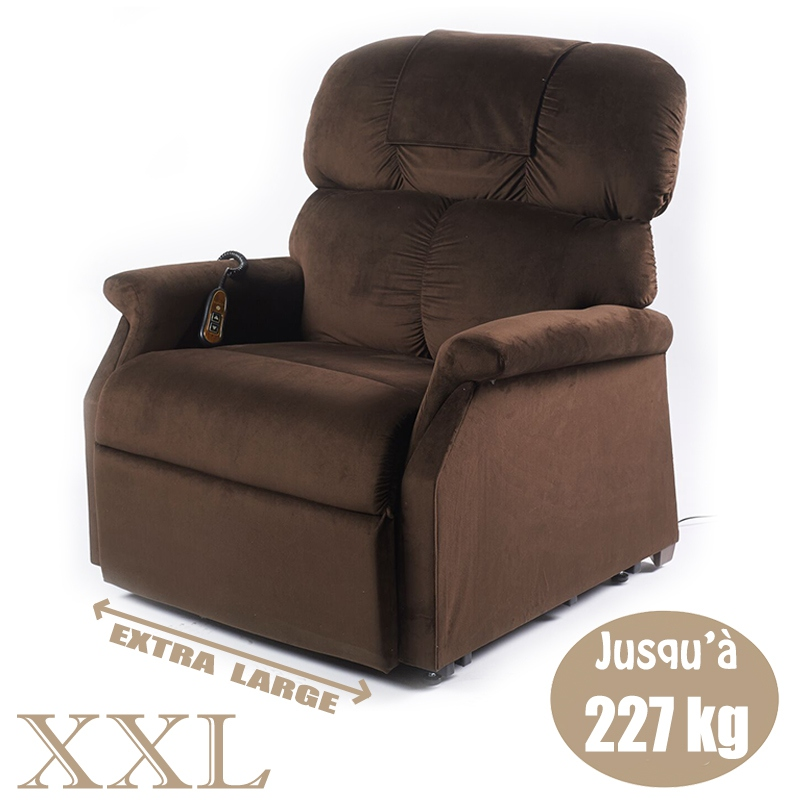 fauteuil releveur relaxation premium xxl 1 moteur. Black Bedroom Furniture Sets. Home Design Ideas
