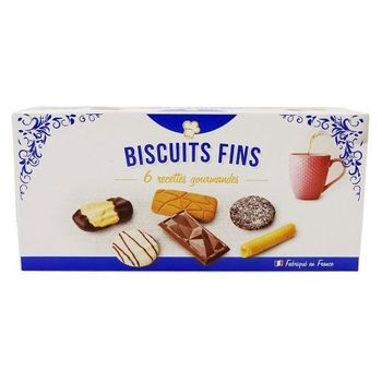 Biscuits assortiments 6 recettes