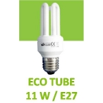 Ampoule tube E27 11 W GO GREEN EQ0120